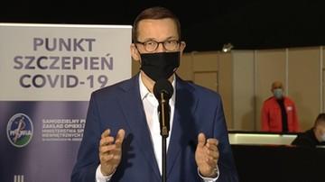 Premier: polskie firmy chcą zaangażować się w proces powstawania szczepionki