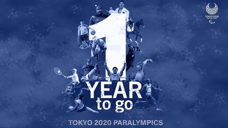Za rok igrzyska paraolimpijskie w Tokio