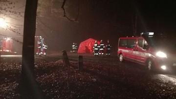 Zderzenie autobusu z autem osobowym w Małopolsce. Są ofiary