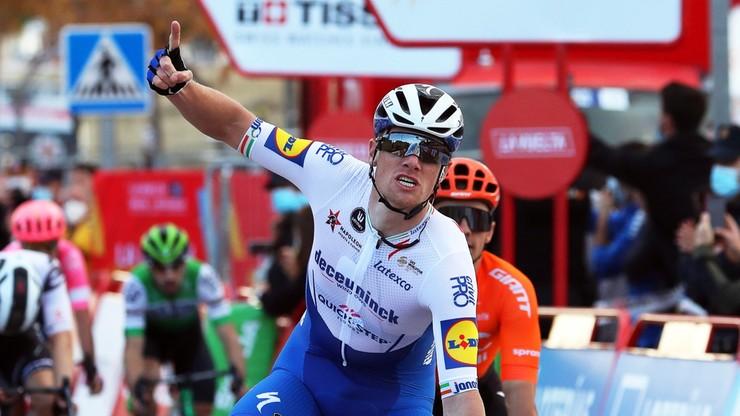 Vuelta a Espana: Sam Bennett najszybszy na czwartym etapie