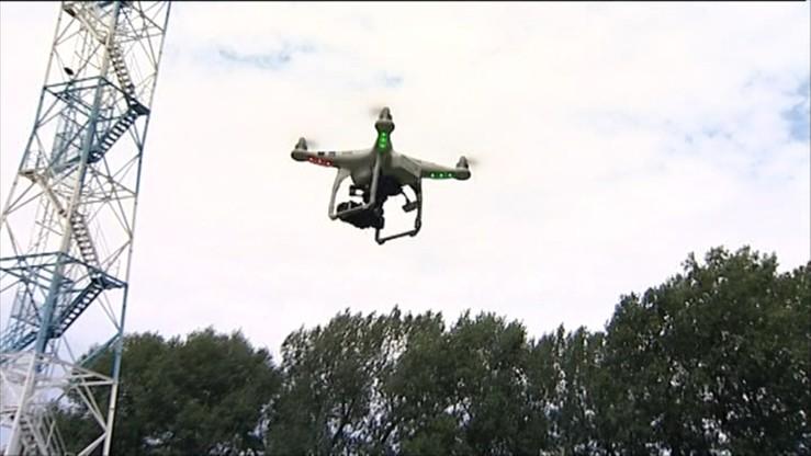 Drony nad Okęciem. Kolejny niebezpieczny incydent