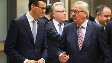 Media o spotkaniu Morawiecki-Juncker: nowy początek w relacjach z UE