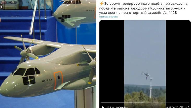 Moskwa. Katastrofa prototypu samolotu Iliuszyn Ił-112V. Trzy osoby nie żyją