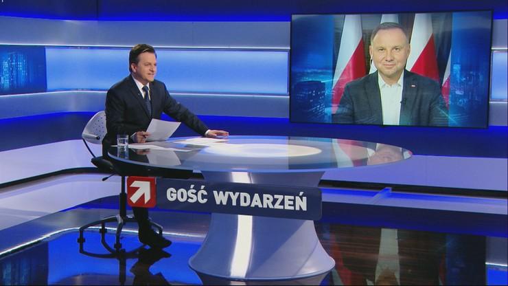"""Prezydent Duda: pochodzę z krakowskiej inteligencji, """"krakówek"""" raczej na mnie nie głosuje"""