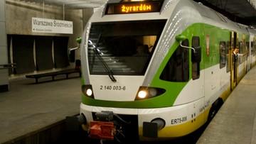 """Zmiany w rozkładzie jazdy Kolei Mazowieckich. W pociągach wyznaczono """"strefy 0"""""""