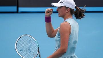 Iga Świątek w kolejnej rundzie Australian Open