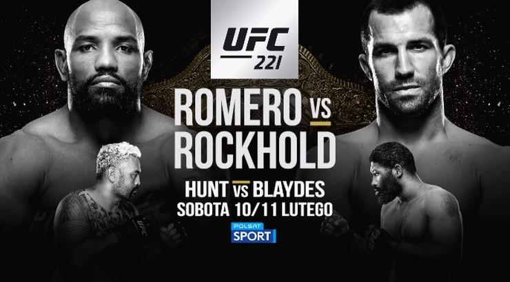 UFC 221: Transmisja w Polsacie Sport!
