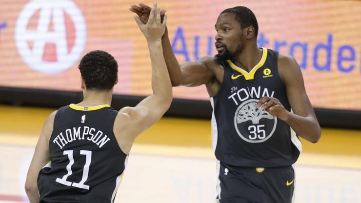 NBA: Drugie zwycięstwo broniących tytułu Warriors