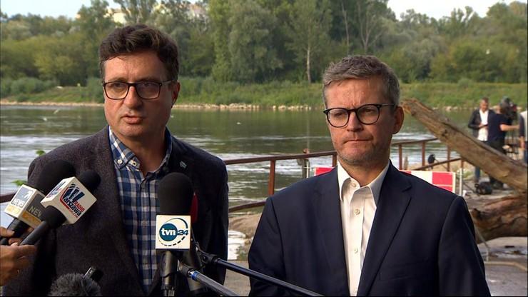 """""""Jesteśmy przerażeni, to niepojęte"""". Wody Polskie pytają prezydenta stolicy o rurociąg zastępczy"""