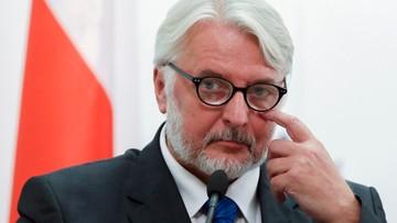 Waszczykowski: wkrótce przedstawię dokumenty dotyczące organizacji wizyty w Katyniu w 2010 r.
