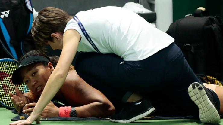 WTA Finals: Krecz Osaki, Bertens w półfinale