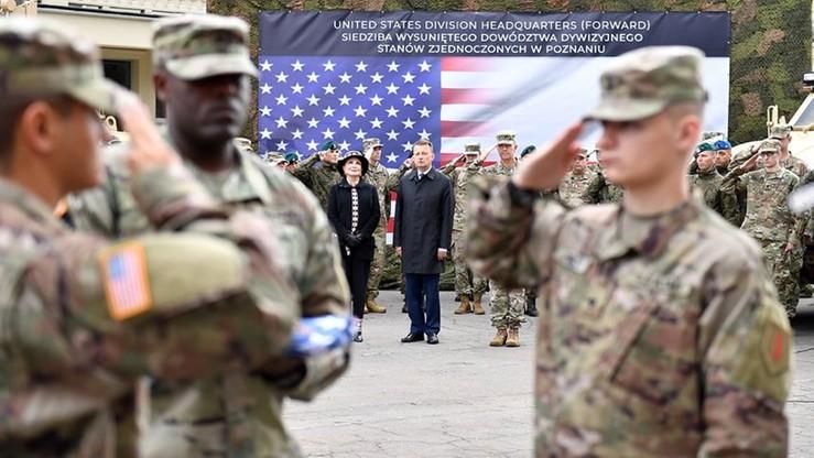 Szef MON: zwiększenie obecności wojsk USA w Polsce jest faktem