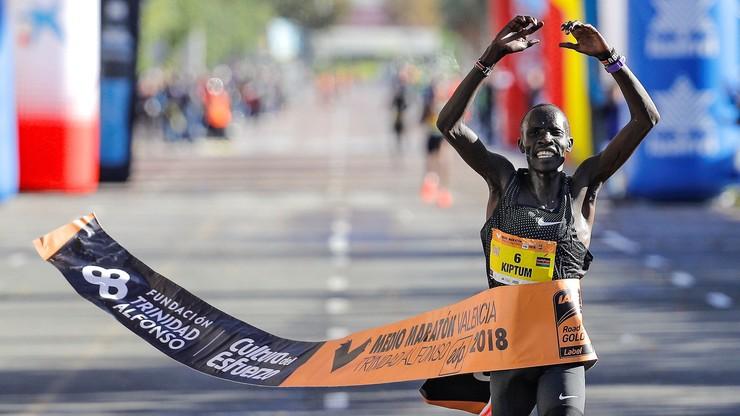Niedawny rekordzista świata w półmaratonie zdyskwalifikowany na cztery lata
