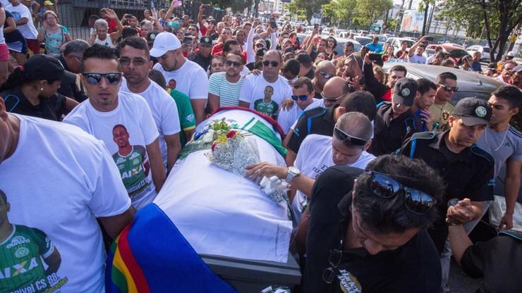 Piłkarze Brazylii i Kolumbii zagrają na rzecz rodzin ofiar katastrofy lotniczej