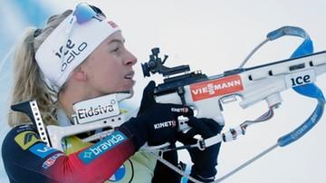 PŚ w biathlonie: Tiril Eckhoff wygrała bieg na dochodzenie w Novym Mescie