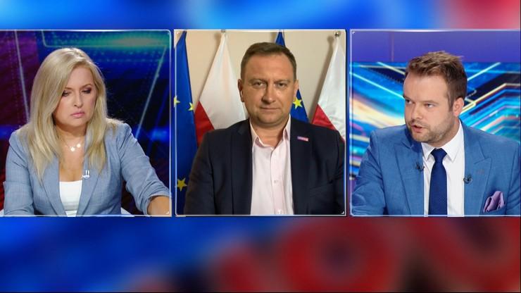 """Poseł PiS Rafał Bochenek w """"Debacie Dnia"""": marszałek Sejmu nie zarządziła reasumpcji"""