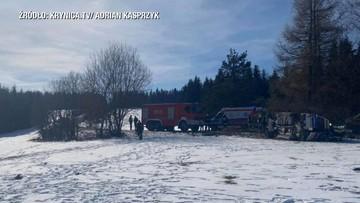 Wypadek karetki pogotowia w Małopolsce. Ratownicy w szpitalu