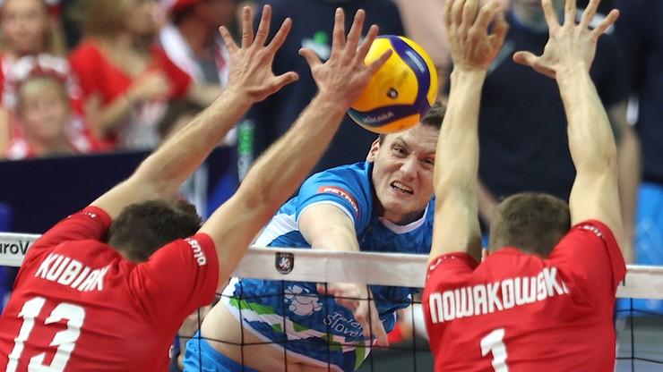 Katowice. Polska przegrała ze Słowenią 1:3 w półfinale Mistrzostw Europy w siatkówce