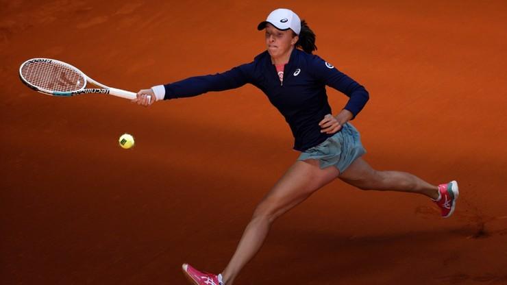 WTA w Rzymie: Świątek poznała kolejną rywalkę