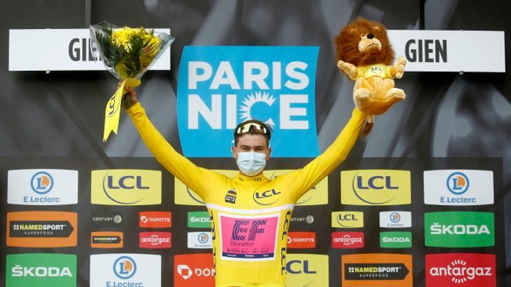 Stefan Bissegger wygrał 3. etap i jest liderem wyścigu Paryż-Nicea