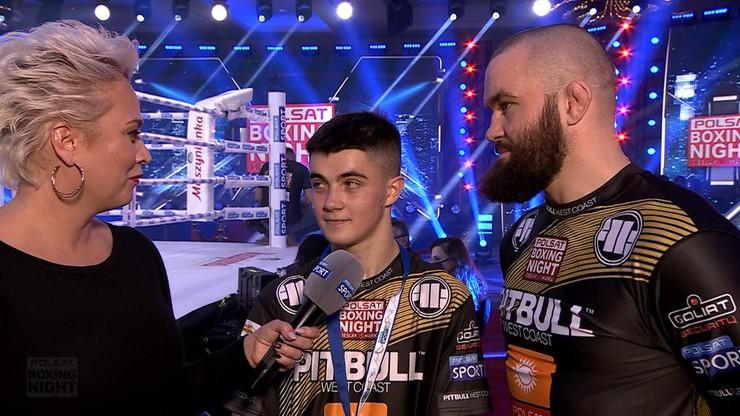 "Michał i Marcel Materla po walce na Polsat Boxing Night. ""Jeśli zechce przejść do MMA..."""