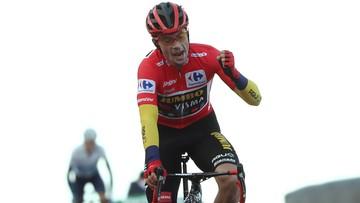 Vuelta a Espana: Drugie z rzędu zwycięstwo Roglica