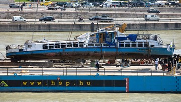 Katastrofa statku na Dunaju. Kapitan może zostać zwolniony za kaucją