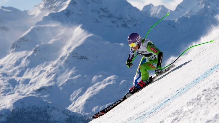 Alpejski PŚ: Stuhec najszybsza w zjeździe w Val Gardenie