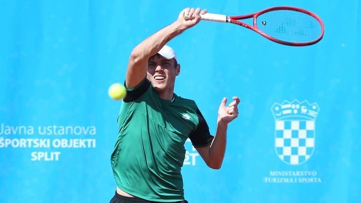 French Open: Kacper Żuk odpadł w I rundzie kwalifikacji