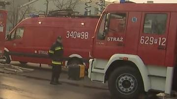 Wyciek i zapłon gazu w Warszawie. Strażacy ewakuowali 20 osób