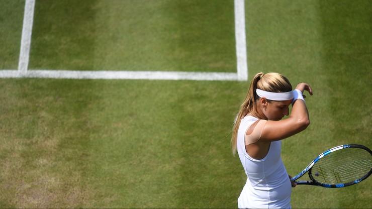 Wimbledon: Zamieszanie podczas meczu Cibulkovej z Hsieh