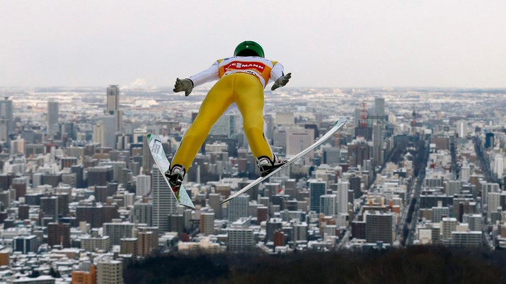 """Prevc wygrał w Sapporo. Polacy poza czołową """"10"""""""