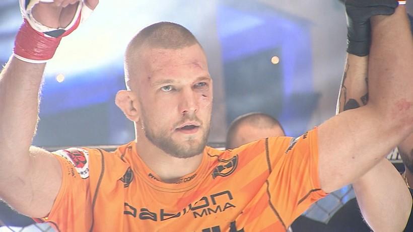 Dana White's Contender Series: Łukasz Sudolski w walce wieczoru
