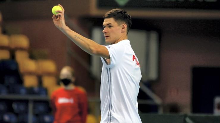 ATP w Nottingham: Majchrzak - Vukic. Relacja na żywo