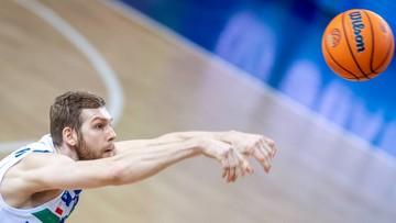 Włoska liga koszykarzy: Dobry mecz Michała Sokołowskiego przeciw liderowi