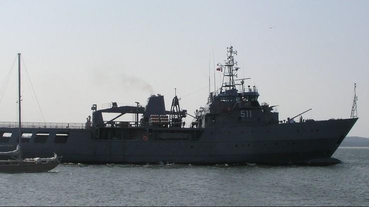 Okręty NATO pod polskim dowództwem wypłynęły z Odessy