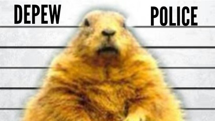 """Policjanci """"aresztowali""""... zimę. """"Każde kolejne opady śniegu zostaną użyte przeciwko tobie"""""""