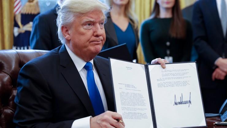 Trump wznawia projekty kontrowersyjnych ropociągów