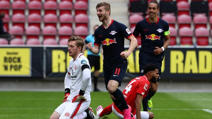 RB Lipsk zdeklasował Mainz. Werner w pogoni za Lewandowskim!