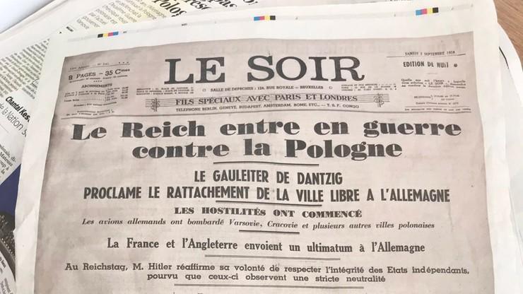 Światowe gazety publikują m.in. teksty premiera i prezydenta o II wojnie