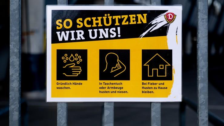 """Piłkarze klubu z 2. Bundesligi mają koronawirusa. """"Niemcy są w szoku"""""""