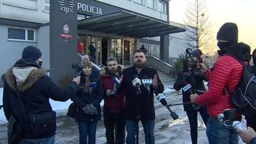 Zgromadzenie przed komendą policji w Rybniku. Chodzi o interwencję w klubie