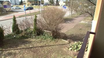 Zbrodnia w Suwałkach. 25-letni wnuczek wyrzucił babcię przez balkon