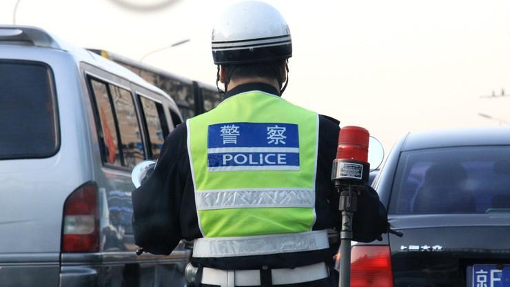 Atak nożownika w Chinach. 11 osób rannych