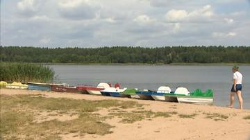 63-latek utonął, ratując żonę. Wypadek na Jeziorze Rajgrodzkim