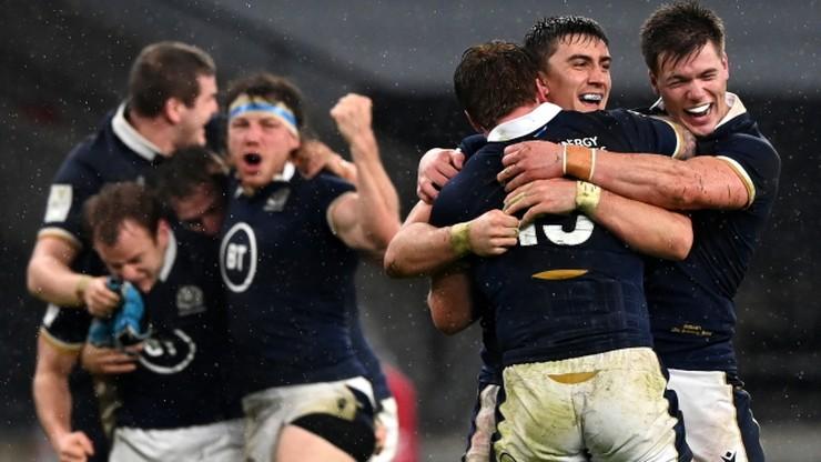 Puchar Sześciu Narodów: Szkoci pokonali Anglików w Londynie po raz pierwszy od 38 lat