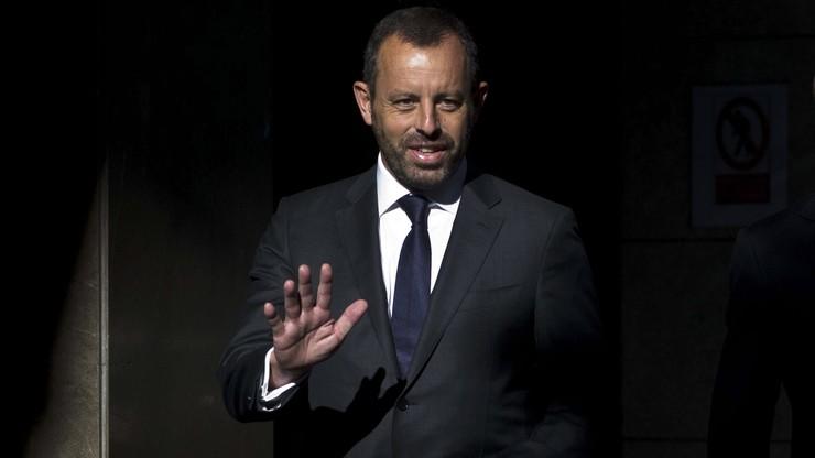 Sandro Rosell na wolności. Były prezes FC Barcelony oczyszczony z zarzutów