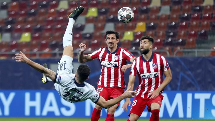 Liga Mistrzów: Kapitalny gol przewrotką Oliviera Giroud w meczu Atletico - Chelsea (WIDEO)
