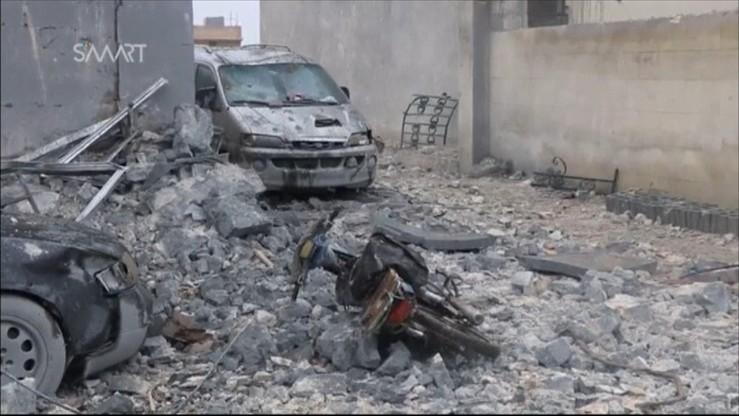 Obserwatorium: naloty na wschodni Damaszek po ataku rebeliantów
