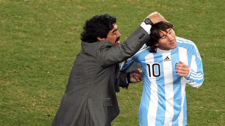 Maradona przekazał koszulkę z MŚ na licytację